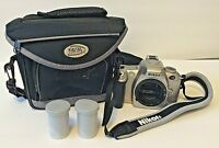 Nikon N55 35mm SLR Film Camera Body with Strap Film Bag Free Shipping