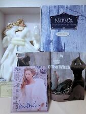 NARNIA-THE WHITE WITCH w CROWN signed DOLL,COA, MAG ,signed TILDA SWINTON pic
