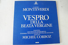 Claudio Monteverdi Vespro della Beata Vergine Historische Instrumente (LP16)