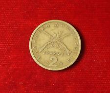 Münze Coin Griechenland 2 Drachme Apaxmai 1978 Gewehre (H8)