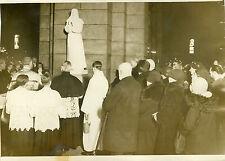 """""""Bénédiction du Cardinal VERDIER 1932"""" Photo originale G. DEVRED / Agce ROL"""