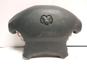 98 99 00 01 02 Dodge Intrepid left drivers wheel airbag black OEM