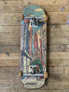 Original 1990's New Deal Danny Sargent invader deck complete skateboard vintage