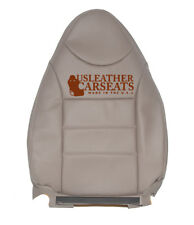01 02 Ford Escape Driver Side Lean Back Synthetic Leather Seat Cover Tan