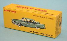 Boite neuve pour Dinky Toys De Soto Diplomat  (545)