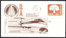 GULFSTREAM STA SPACE SHUTTLE TRAINING AIRCRAFT FLIGHT 11-3-1976 Space Cover