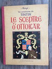 TINTIN - LE SCEPTRE D'OTTOKAR - N&B - 1939 - A7 - BE+