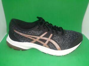 Asics Gel-Kumo Lyte 1012A748 Running Shoes Women's Size 10W Black/Rose Gold