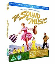 The Sound of Music 50th Anniversary Blu-ray 2-DISC Edition Region B NEW