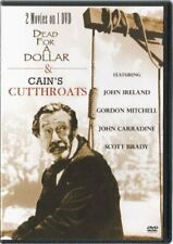 Dead for a Dollar & Cain's Cutthroats (2 Movies on 1 disc) DVD, NEW
