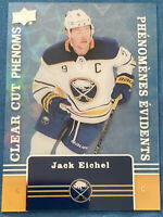 2019-20 Upper Deck Tim Hortons Clear Cut Phenoms #CC4 Jack Eichel