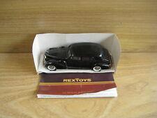 CADILLAC V16 SEDAN BLACK 1938-1940 by REXTOYS 1/43  No outer box Deceased Estate