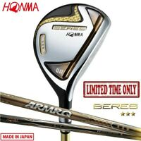 LIMITED TIME ONLY 3-Star 2020 HONMA Golf Japan BERES Utility,Hybrid ARMRQ47 19wn