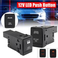 12V 3A LED Light Bar/Spot Lights Push Switch For Nissan NP300 Navara Pathfinder