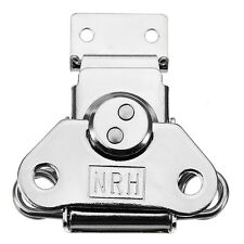 6331A Cold Rolled Silver Twist Draw Latch Rotary Turn with Catch Plate NEW
