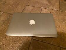 "Apple MacBook Air Core i5 1.7GHz 4GB 128GB SSD 11"" A1465, mid 2012 Catalina"