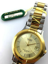 OROLOGIO Orient C77030 classic WATCH JAPAN DATE WATER RESISTENT RELOJ VINTAGE