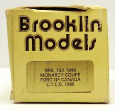 BROOKLIN 1949 FORD MONARCH COUPE BRK. 15X  CANADA C.T.C.S.  ( EMPTY BOX ONLY )
