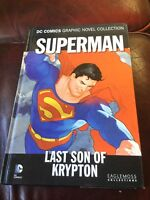 DC Comics Graphic Novels Eaglemoss - Superman Last Son of Krypton