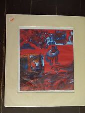 "Carole Sue Lebbin Print ""FT. LAUDERDALE INNERTUBE"" Signed/Numbered 6/7"