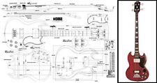 Gibson EB-3® SG® Style Bass Plan