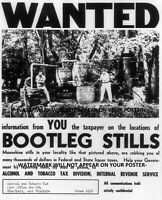 Prohibition Wanted Poster PHOTO Bootleg Liquor Still, Snitch on neighbor 8x10
