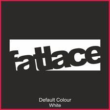Fatlace decals x2, auto, vinile, Adesivo, Decalcomania, JDM VW VAG Euro, Drift, N2169