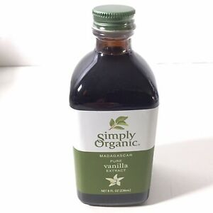 Simply Organic Madagascar Pure Vanilla Extract 8 Ounce Bottle Oz EXP: 05/2023.