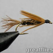1 dozen (12) - Carey Special - Peacock - WET FLY