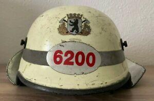 Berliner Feuerwehr Helm Wache 6200 Dräger HPS 4100 H2 Original