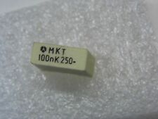 Lot de 10 - capacitor condo condensateur MKT 100nF 0.1µF 0.1uF 0.1MF 250vDC 10%