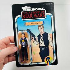 "Han Bolo 3.75"" Custom Action Figure Star Wars Mashup Han Solo Darth Vader"