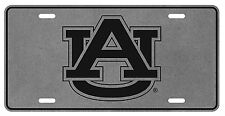 AUBURN UNIVERSITY Pewter AU License Plate / Car Tag