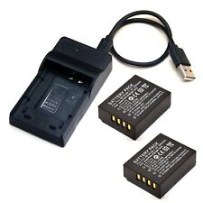 Battery / USB Charger For Fujifilm X-Pro1 X-Pro2 X100F US Stock Brand New