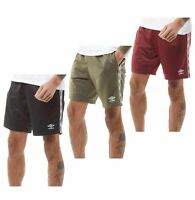 Mens Umbro Micro Fleece Sportswear Lined Training Shorts Sizes from S to XXL