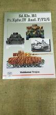 Sd.Kfz. 161 Pz.Kpfw.Iv Ausf. F/F2/G Germany Wwii Tank Armor Models Hobby