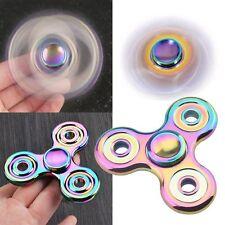 Bid! Rainbow EDC Fidget Hand Spinner Alloy Finger Focus ADHD Autism Kids Toy