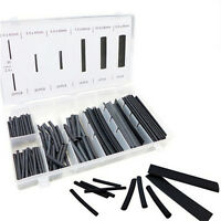 127X Heat Shrink Tubing Shrinkable Tube Assortment Kit Sleeving Wrap Wire 2:1 ZF