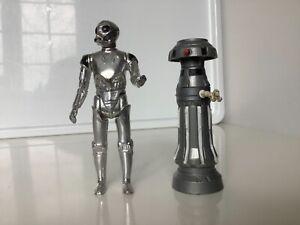 Vintage Kenner Star Wars, Death Star Droid and FX-7 figures