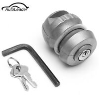 Insertable Hitch Lock Trailer Coupling Lock Tow Ball Caravan Security New 50mm