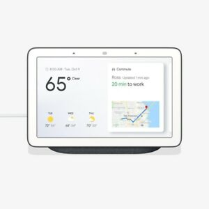GOOGLE Home Hub with Google Assistant (GA000515-US) in Charcoal/Gray, Brand New