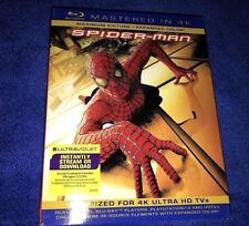 Spider-Man Spiderman Mastered In 4K Blu-ray Slipcover, Brand New (2013)
