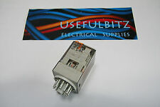 MCG 3 Pole 11 Pin 10 A 12V AC Plug In Relay 60.13.8.0120040