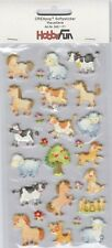 Softy Stickers CREApop 3451-171 Auto-collants Animaux de la ferme Farmyard