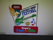 2016 Kentucky Derby Festival Kroger Fest-A-Ville  Event Pin