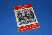 Postage Stamp Design National Philatelic Museum BlueLakeStamps Great book info!