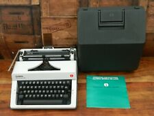 More details for olympia monica de luxe portable typewriter with case