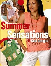 Summer Sensations BOOK Crochet Patterns Camisole Top Poncho Shawl