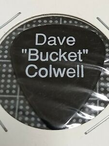 """Bad Company / Dave """"Bucket"""" Colwell 1992 Tour Guitar Pick"""