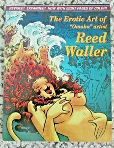 "The Erotic Art of ""Omaha"" Artist REED WALLER Paperback Fantagraphics Books 1996"